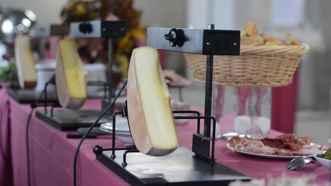 Raclette animation culinaire