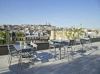 Cocktail dinatoire sur les toits de Paris