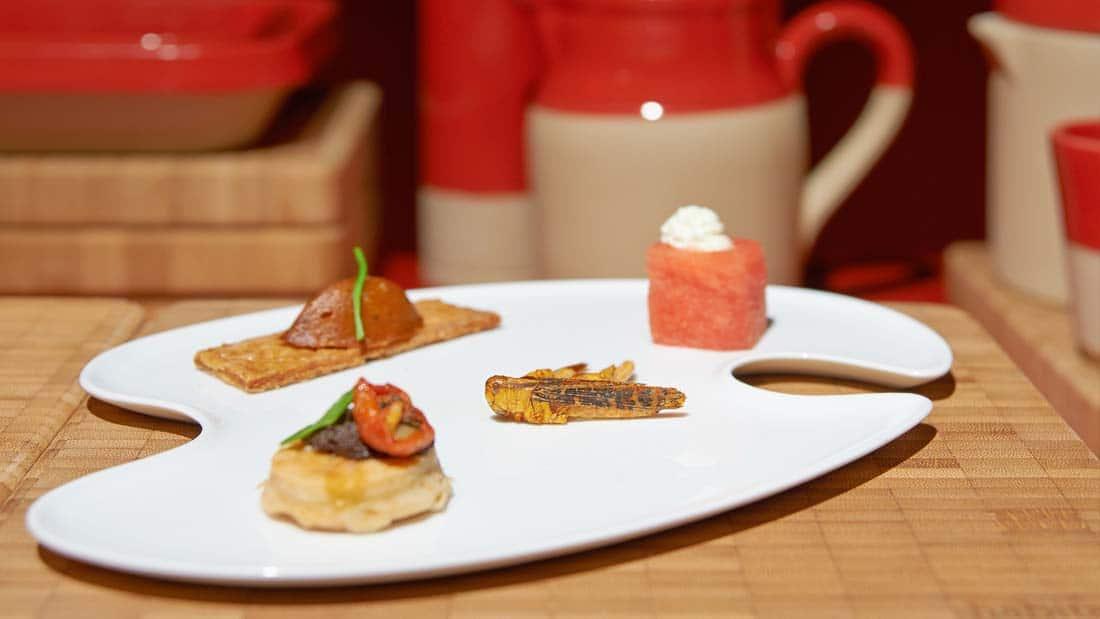 Ateliers culinaires À Table - Dégustation d'insectes