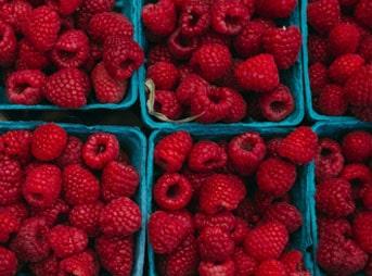 Fruit du mois : la framboise