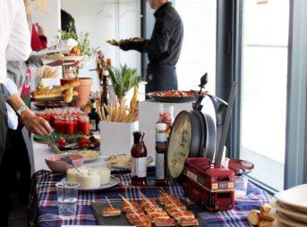 Un buffet déjeunatoire autour des saveurs européennes