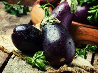 Le légume du mois : l'aubergine