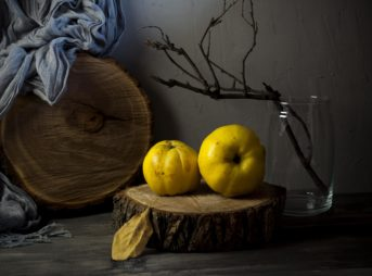 Le fruit du mois : le coing
